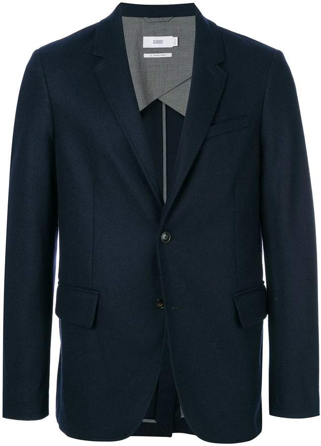 Closed slim-fit buttoned blazer