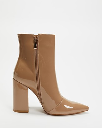 Billini - Women's Brown High Heels - Tio - Size 6 at The Iconic