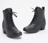 Fly London Leather Lace-Up Boots - Wune
