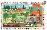 Djeco Observation puzzle The Farm