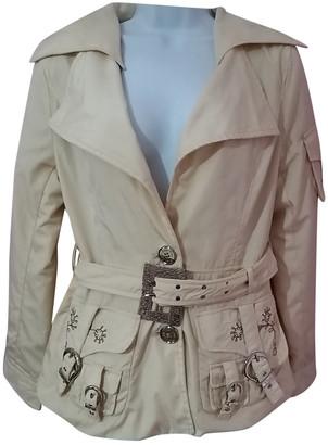 Christian Dior Beige Cotton Coats
