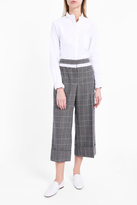 Thom Browne Checked Cropped Trousers