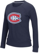 Reebok Montreal Canadiens Ladies' Gel Pattern Logo Tee, S