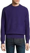 Neiman Marcus Cashmere by Billy Reid Sweater, Purple
