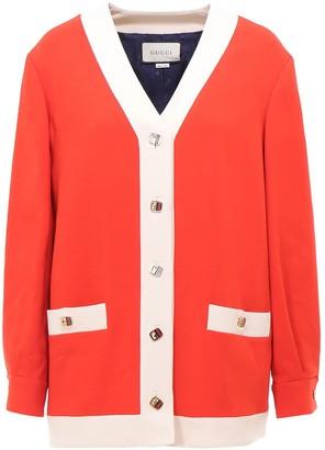 Gucci Contrast Stripe Cardigan