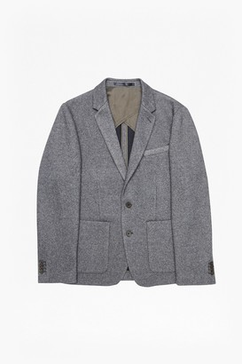 French Connection Double Face Wool Jersey Blazer