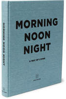 Soho Home - Morning Noon Night Hardcover Book - Blue