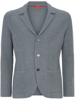 Isaia Wool Button-Down Cardigan