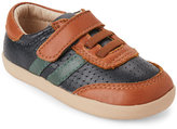 Old Soles Toddler Boys) Navy & Tan Cam Perforated Shoes