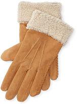 Ralph Lauren Monogram Shearling Gloves