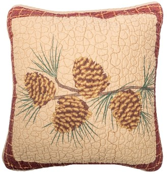 Donna Sharp Pine Lodge Pine Branch Decorative Pillow