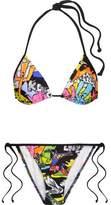 Kenzo Printed Triangle Bikini