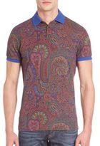 Etro Paisley Printed Polo Shirt