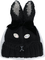 CA4LA rabbit ears beanie - women - Nylon/Viscose/Wool/Alpaca - One Size
