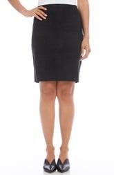 Karen Kane Faux Suede Pencil Skirt