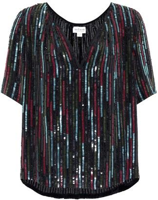 Velvet Nikky sequined top