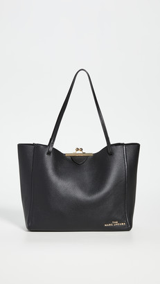 Marc Jacobs The Kiss Lock Large Tote