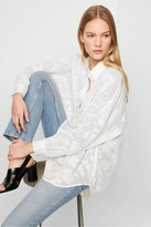 French Connection Clarita Fil Coupe Popover Shirt