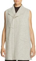 Eileen Fisher Merino Wool Pin Vest