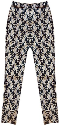 Marques Almeida Gold Polyester Trousers