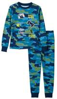 Petit Lem Pajama Top & Bottom 2-Piece Set (Toddler & Little Boys)