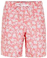 Topman Pink Floral Board Shorts