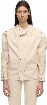 Isabel Marant Espera Plain Cotton Denim Jacket