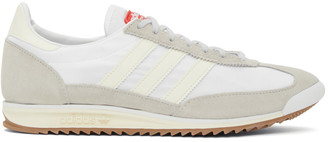adidas LOTTA VOLKOVA White and Off-White SL72 Low-Top Sneakers