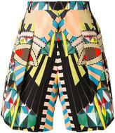 Givenchy Crazy Cleopatra printed bermuda shorts - men - Cotton - 50