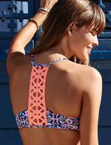 aerie Lightly Lined Bikini Top + Crochet