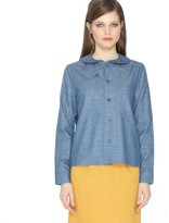 PepaLoves Peter Pan Collar Shirt