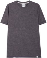 Norse Projects James Navy Mélange Cotton T-shirt