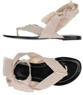 Liviana Conti Toe post sandal