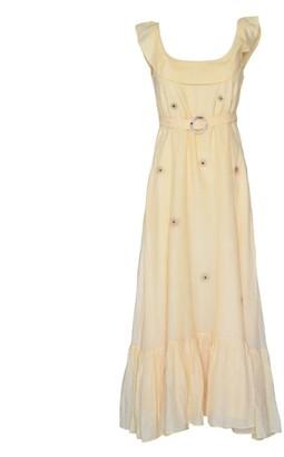 The Loom Art Daffodil Cotton Shift Dress