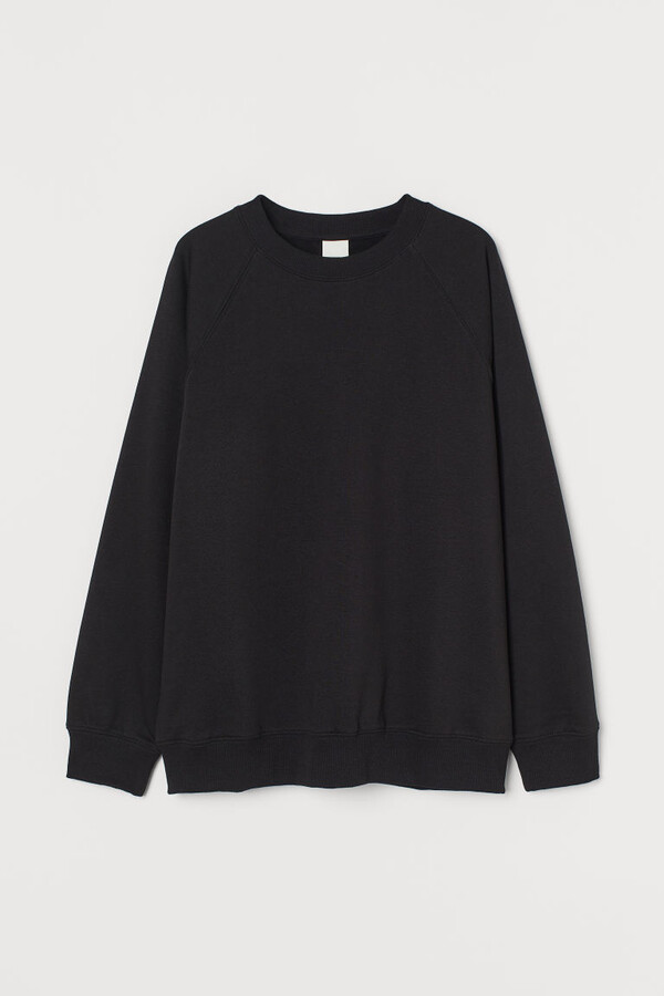 H&M - Sweatshirt - Black