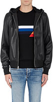 Rag & Bone Men's Christopher Leather Hooded Bomber Jacket