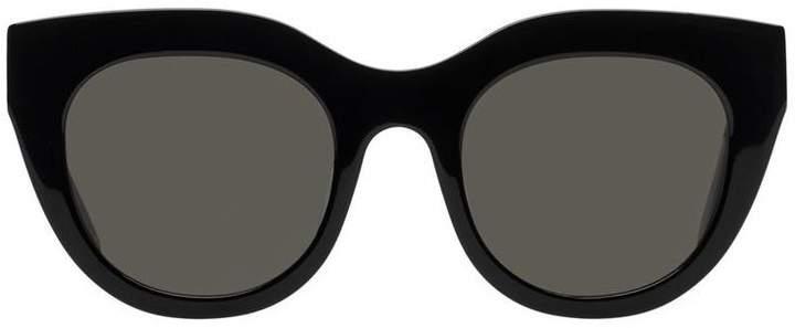 Le Specs AIRY CANARY SUNGLASSES - BLACK KHAKI MONO