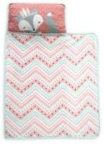 Lambs & Ivy Little Spirit Nap Mat in Coral/Teal