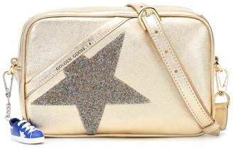 Golden Goose Star metallic leather shoulder bag