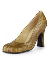 Vivienne Westwood Animal Toe Court Shoe Brown Size UK 4