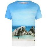 Orlebar Brown Orlebar BrownBoys Rocky Beach Print Top