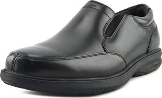 Nunn Bush Men's Myles Street Slip-On Slip Resistant Loafer with KORE Comfort Technology