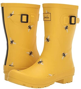 Joules Mid Molly Welly (French Navy Spot) Women's Rain Boots