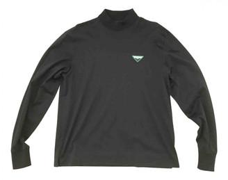 Prada Black Cotton Knitwear & Sweatshirts