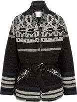 IRO Ashton wool-blend jacquard jacket