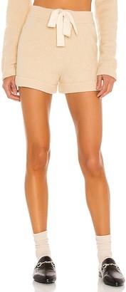 L'Academie Harley Knit Shorts