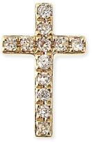 Sydney Evan 14k Gold Diamond Cross Single Stud Earring