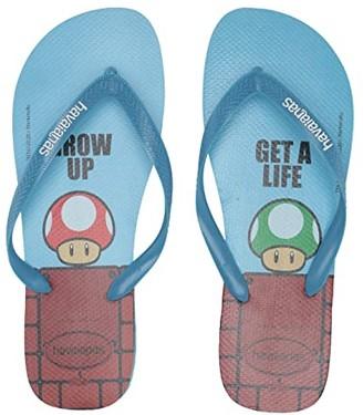 Havaianas Mario Sandal (Ice Blue/Dark Brown) Men's Shoes