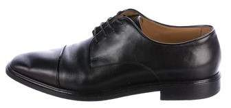 Christian Louboutin Leather Cap-Toe Derby Shoes