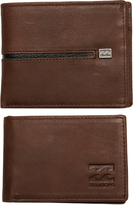 Billabong Highway Leather Wallet Brown